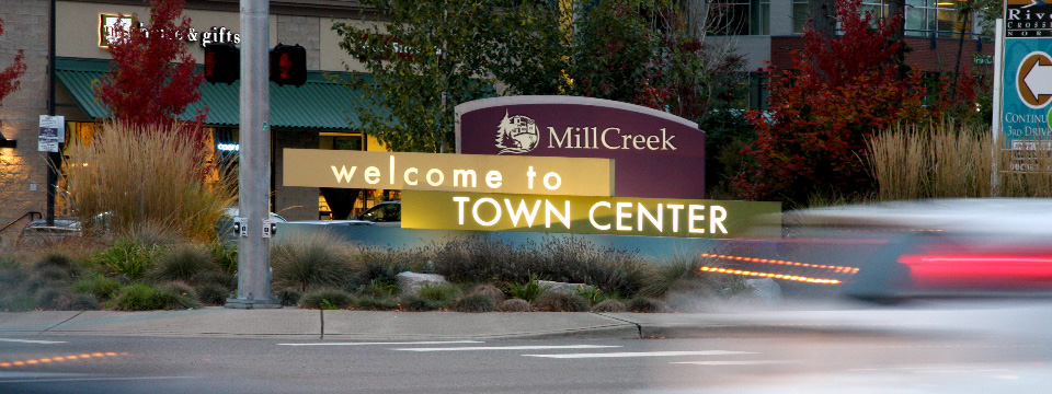 Mill Creek City Signage