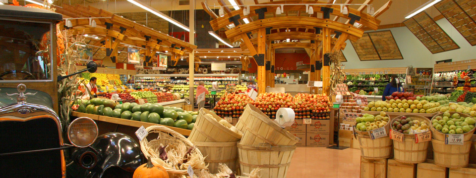 Top Foods Grocery Interiors